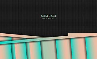 Background Gradient Magenta Orange Abstract Style Design vector
