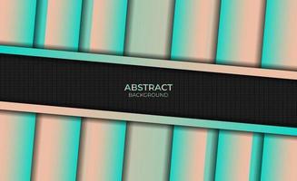 Background Gradient Abstract Style Magenta Orange Design vector