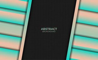 Abstract Background Style Gradient Magenta Orange Design vector