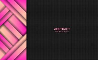 Abstract Modern Pink Yellow Gradient Color Background Design Style vector