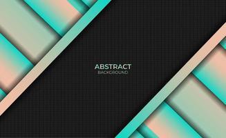 Design Abstract Gradient Magenta Orange Background Style vector