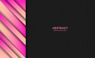 Abstract Pink Yellow Gradient Color Background Design Style vector