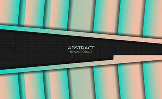 Background Abstract Style Gradient Magenta Orange Design vector