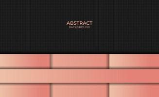 Abstract Design Style Gradient Orange Color Background vector