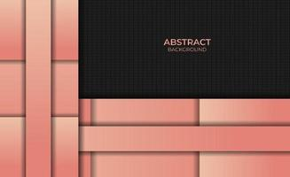 Abstract Style Gradient Orange Color Background Design vector