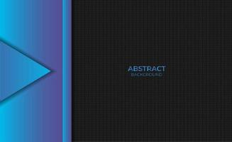 Abstract Modern Blue Gradient Background Design Style vector