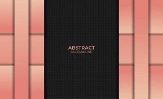 Abstract Gradient Orange Color Background Design Style vector
