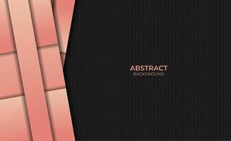 Abstract Design Background Style Gradient Orange Color vector