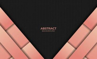 Design Abstract Style Gradient Orange Color Background vector