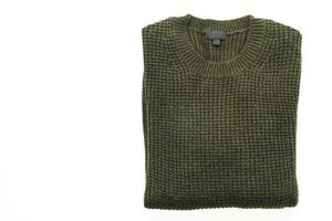 Sweater isolated on white photo