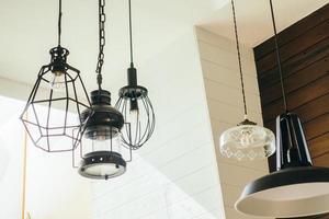 lámpara de techo vintage foto