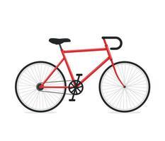 señal de bicicleta. ilustración vectorial vector