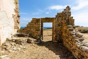 Ruins at Selinunte in Sicily, Italy photo