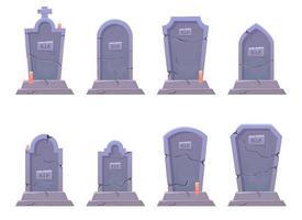 Grave stone vector design illustration isolated on white background