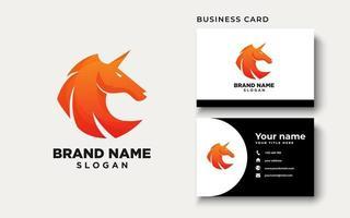inspiración para el diseño del logotipo del caballero del caballo vector