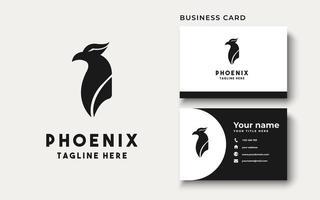Phoenix Logo Design Inspiration, Vector Illustration