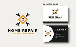 Home Repair Logo Design Inspiration vector