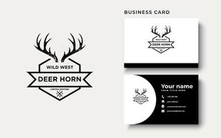 Deer Horn Logo Design Inspiration vector
