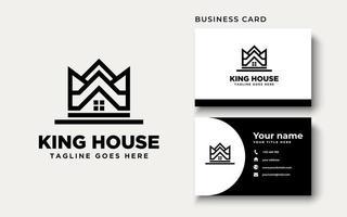 Crown House Logo Design Inspiration vector