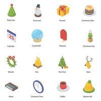 Trending Christmas Elements vector