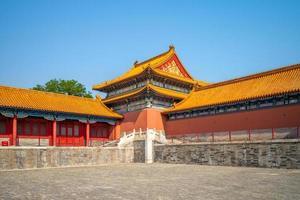 ciudad prohibida en beijing, capital de china foto