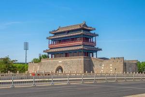 Puerta principal de la ciudad prohibida en Beijing, China foto