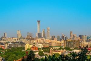 Skyline of Beijing, capital of China photo