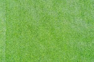 Top view photo, Artificial green grass texture background photo