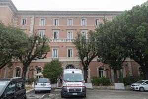 aquasparta, italia 2020- residencia de ancianos para ancianos en la ciudad de aquasparta foto