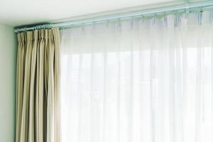 Curtain and window photo