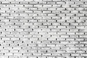 White and gray brick wall textures photo