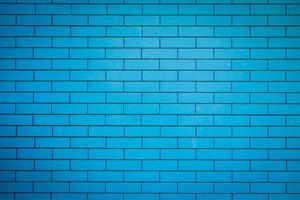 Blue brick stone wall textures photo