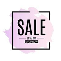 Sale and discount promo backgrounds with abstract pattern. Vector Illustration