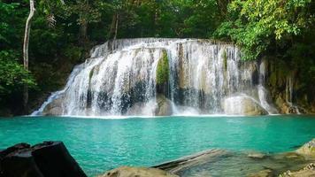 Erawan Waterfall in The Woods video