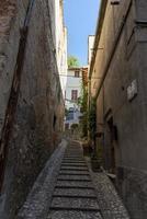 arquitectura de calles y edificios en el centro de amelia foto