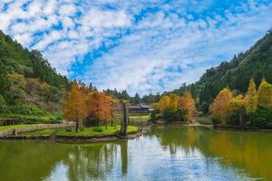 Mingchi forest recreation area in Yilan, Taiwan photo