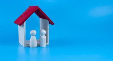 Inversión inmobiliaria, planificación financiera de hipotecas de viviendas y concepto de refinanciación de viviendas inmobiliarias foto