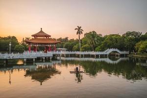 Nianci pavilion of Tainan park in Tainan, Taiwan photo