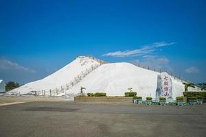 Salt mountain at Cigu county, Tainan photo