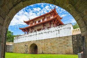 The Great South Gate in Tainan, Taiwan photo