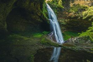 Sunglungyen Waterfall at Shanlinshi, Taiwan photo