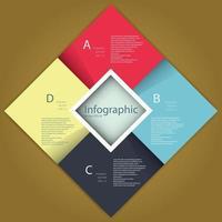 Info graphics template vector