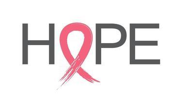 Breast Cancer Awareness Month Pink Ribbon Background Vector Illustration