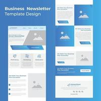 Latest Clean and modern email design for eCommerce product launching brand positioning contest vector