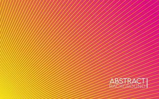 Abstract Sunrise Background Gradient Design vector