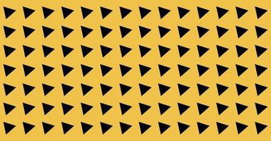 abstract Landscape Wide background triangle tilted yellow and black symbol seamless pattern for textile printing covers vector