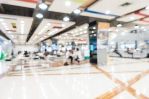 Desenfoque abstracto y centro comercial bokeh y tienda minorista foto