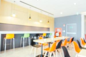 restaurante borroso abstracto foto