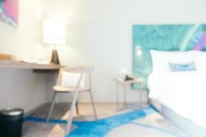 dormitorio borroso abstracto foto