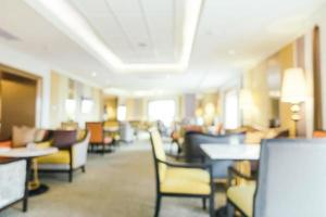 Abstract blur and defocused hotel looby and lounge photo